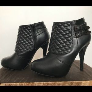 "Shoes - Marbella Ankle Boots with 4"" Heel"